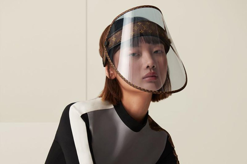 Louis Vuitton Face Shield Will Reportedly Sell For $961 In October
