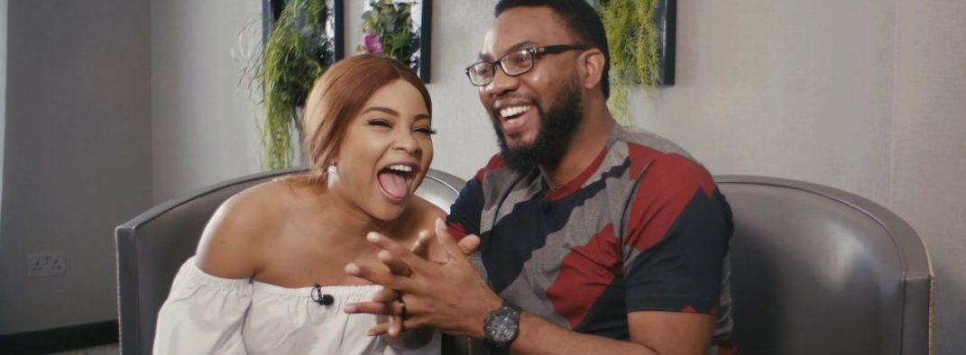 Linda Ejiofor Surprises Husband With A Billboard At MM2 On His Birthday