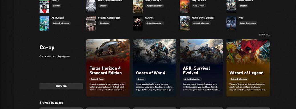 Xbox App update