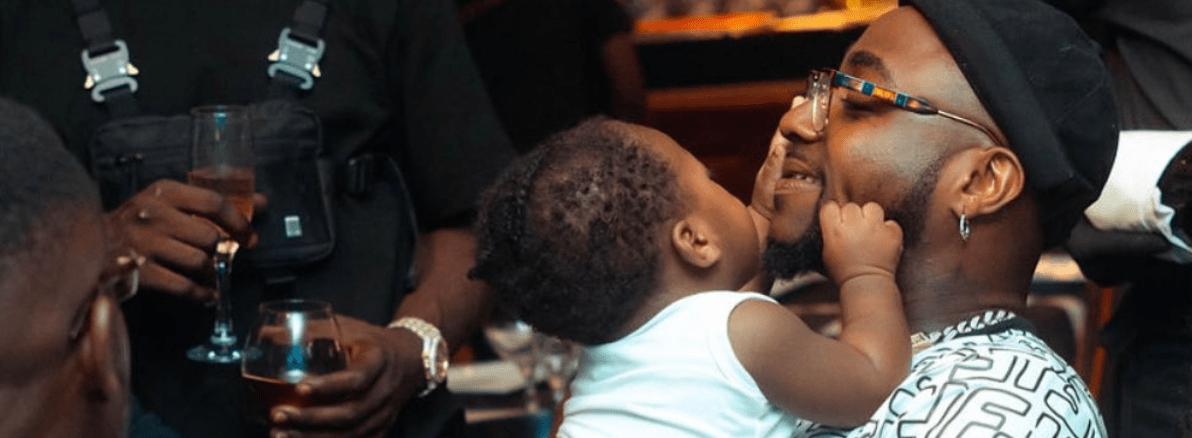 Davido Celebrates First Birthday Of His Son On Twitter