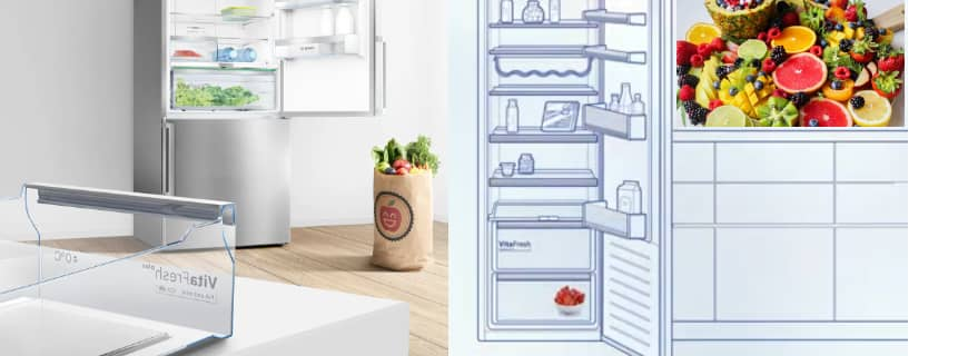With Bosch VitaFresh, You No Longer Need To Throw Food And Vegetables Out