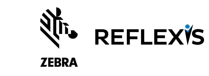 Zebra Technologies and Reflexis Systems logo