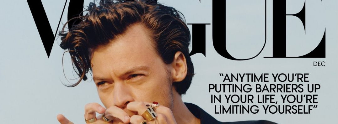 Harry Styles Is First Male To Appear Solo On US Vogue Magazine