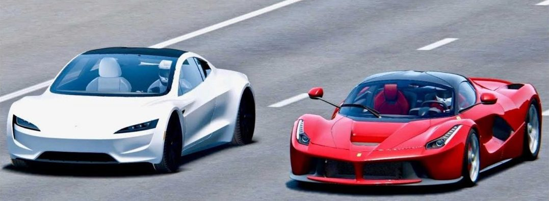 Elon Musk Says He Wants The New Tesla Roadster To Hover