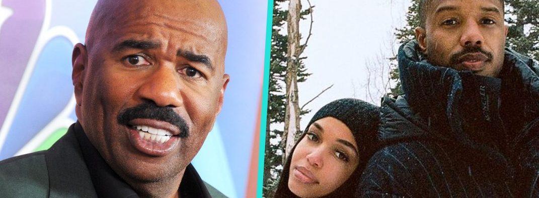 Steve Harvey Says He's Rooting For Lori And Michael B Jordan's Relationship