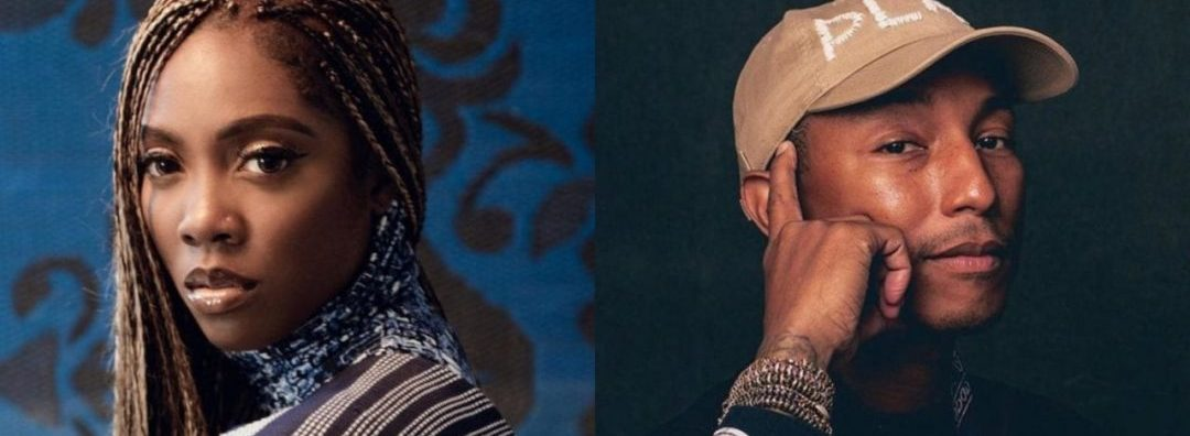 Pharrell Williams Praises Tiwa Savage's Upcoming EP, Calls It A Classic
