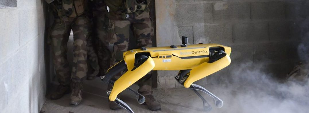 French Army robot