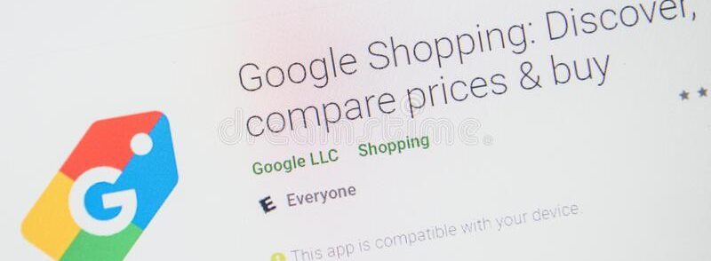Google shopping apps