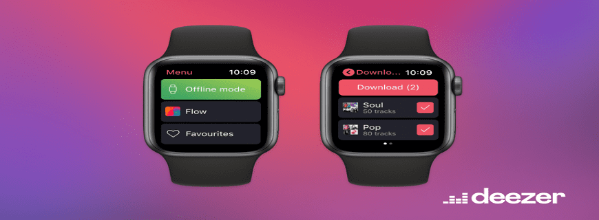 Deezer Beats Spotify To Offline Music Playback For The Apple Watch