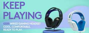 Logitech Releases Cheaper $70 Colorful Wired Gaming Headset