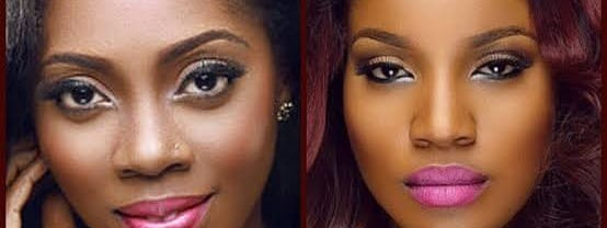 Seyi Shay & Tiwa Savage Dirty Fight In Hair Salon; Real Story Behind The Bad Blood