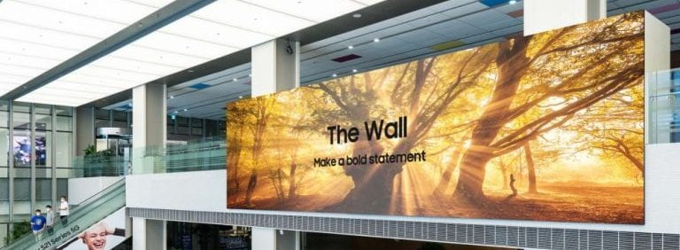 Samsung's 1,000-Inch 2021 MicroLED Display Has Improved Color/Design