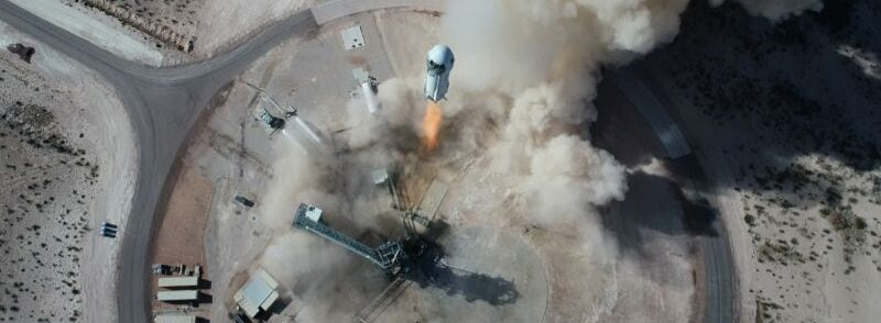 Blue Origin's Jeff Bezos Flight To Space And Back Was Successful