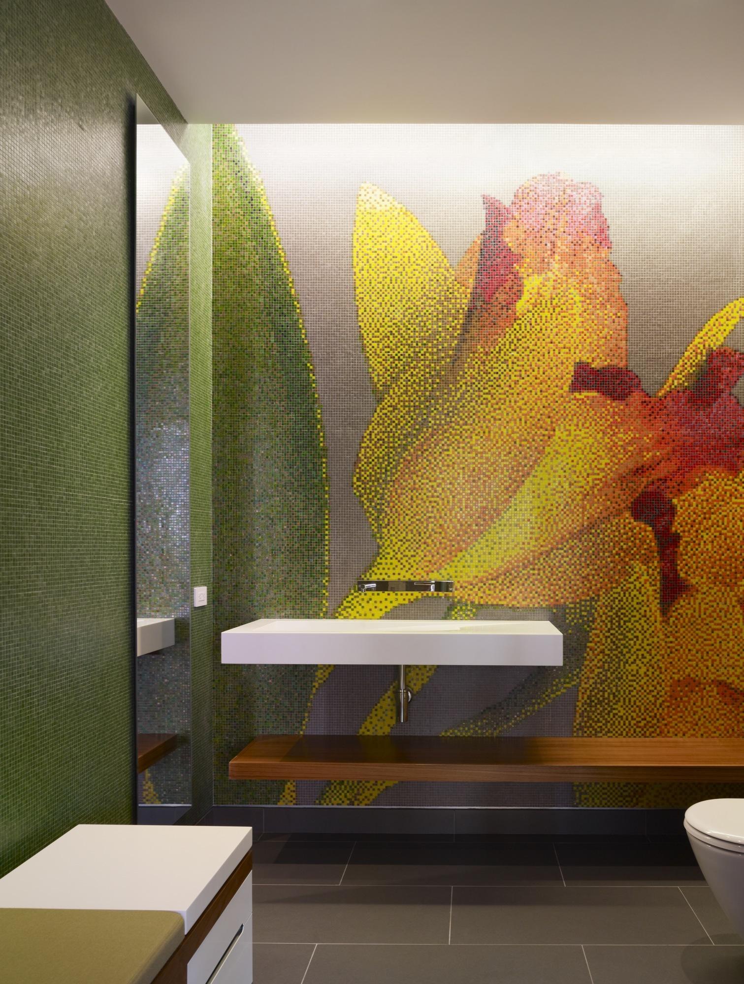 Residence Kona, Belzberg Architects, Salle de bain