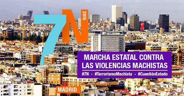 Marcha Contra las Violencias Machistas 7 de Noviembre