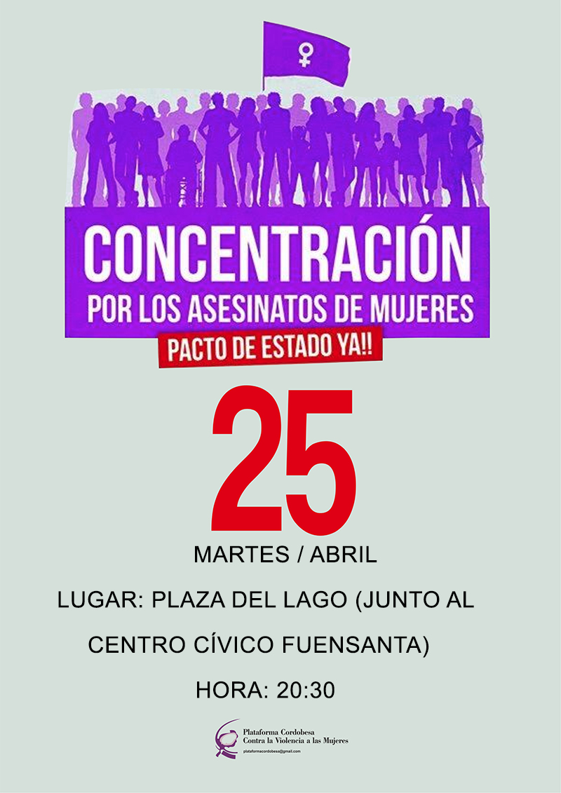Concentración 25 de abril