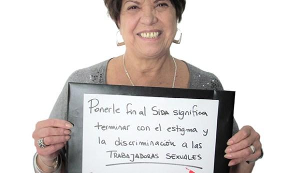 Elena Eva Reynaga, Executive Secretary at Network of Women Sex Workers from Latin America and the Caribbean, Argentina.
