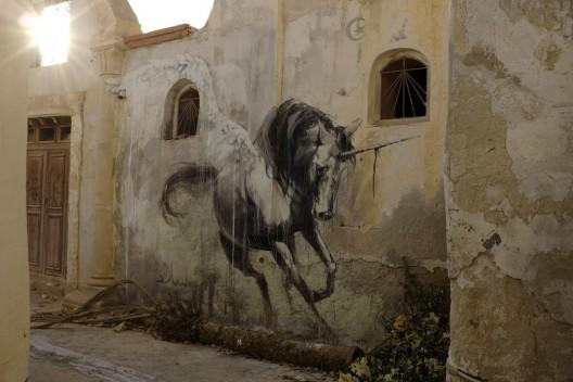 Unicornio por Faith47 en Tunez