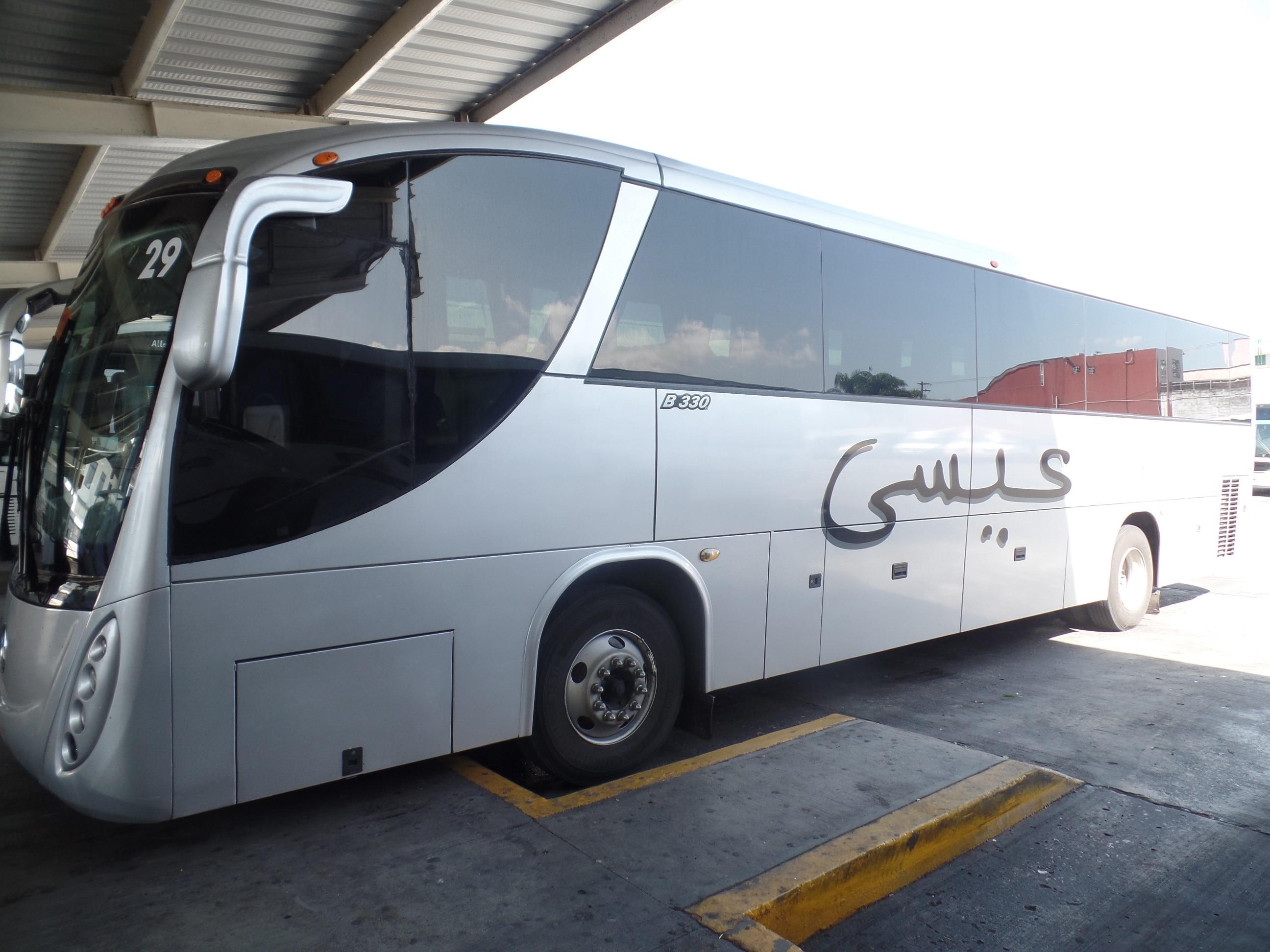 """Mercedes Benz Beccar B330, Autotransportes de Córdoba, S.A. de C.V. """"Plateados"""""""