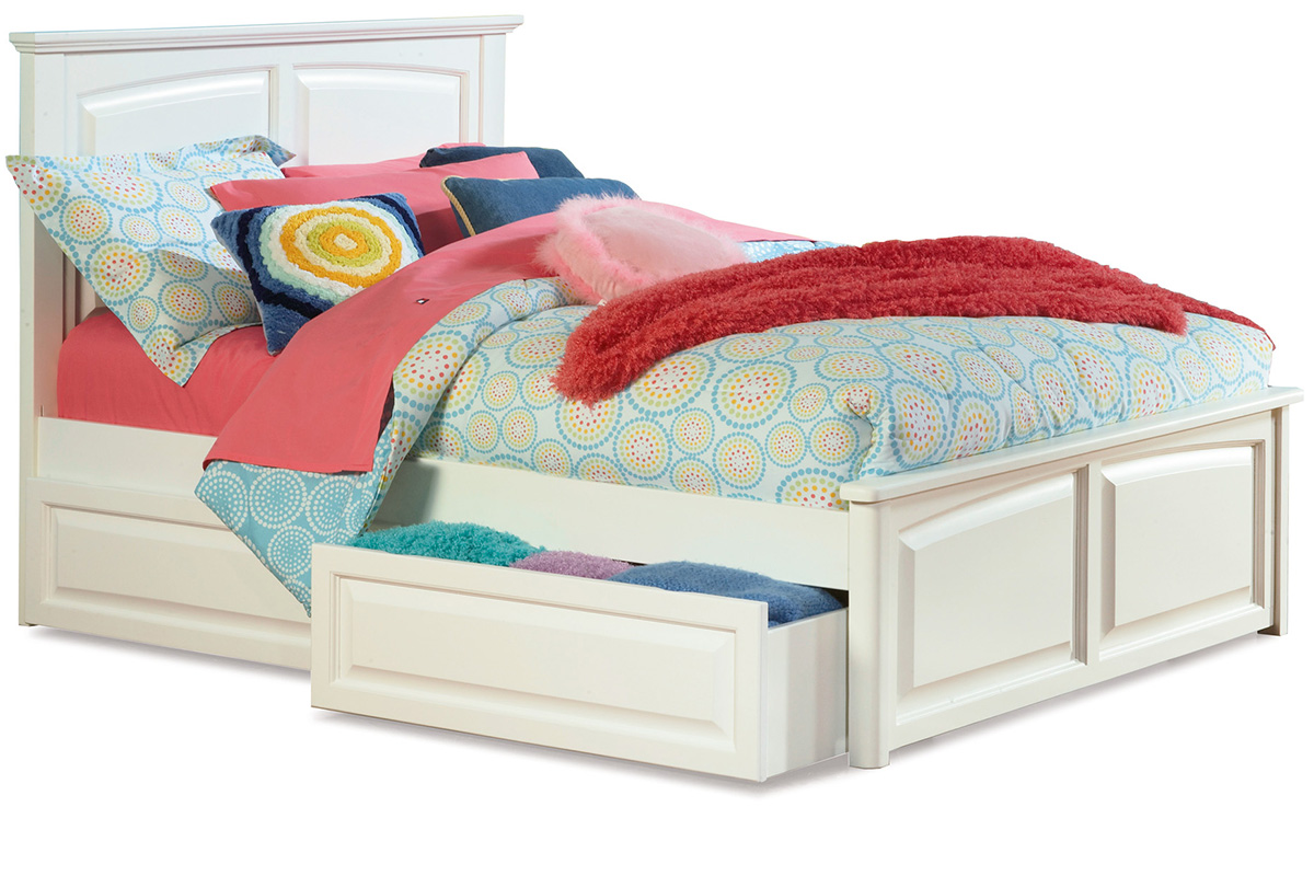 Monterey Platform Bed Raised Panel Footboard