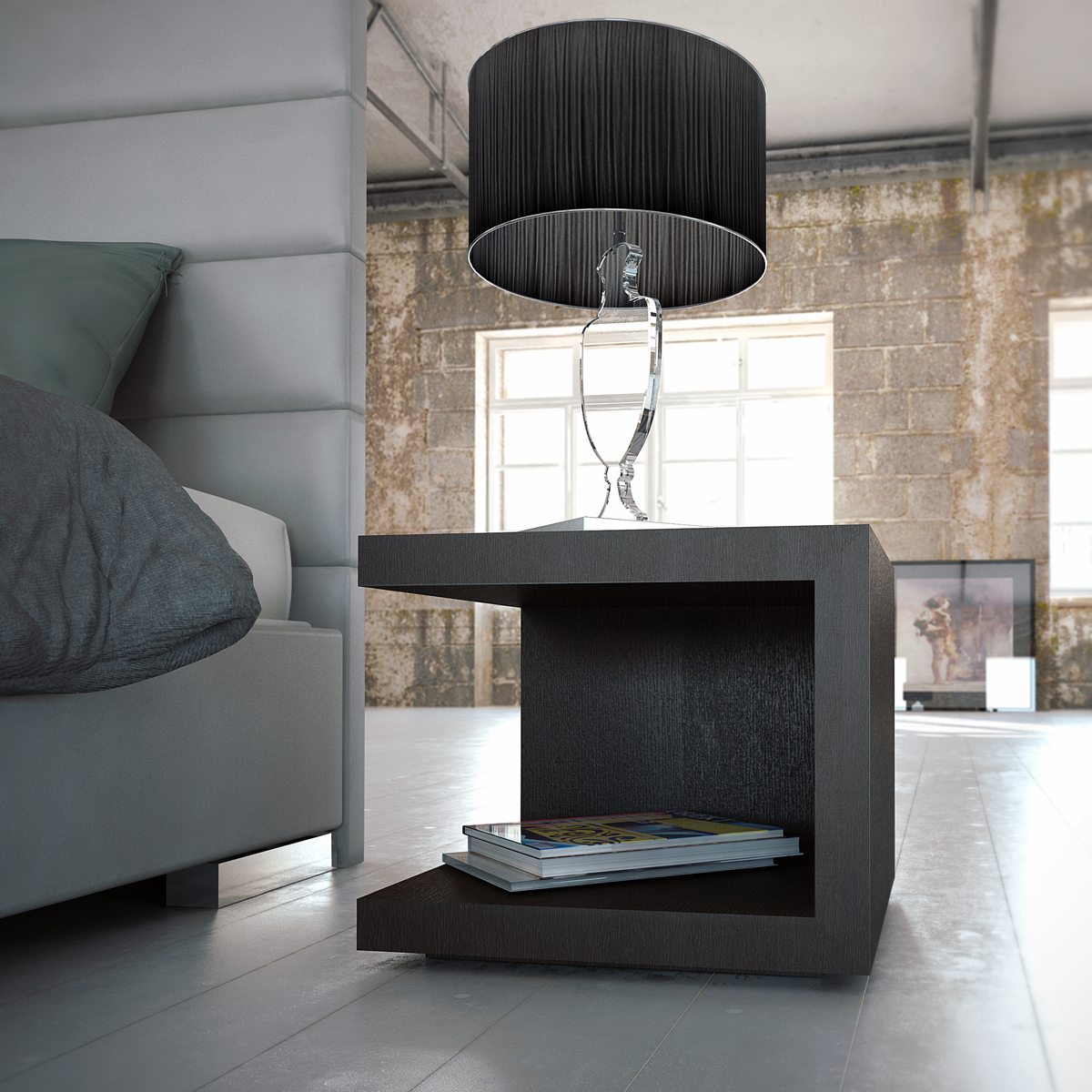 Chic Modern Nightstand