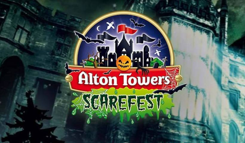 alton towers, halloween
