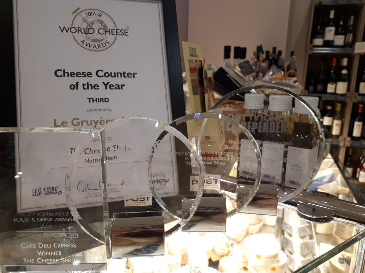 nottingham, the cheese shop, cheese