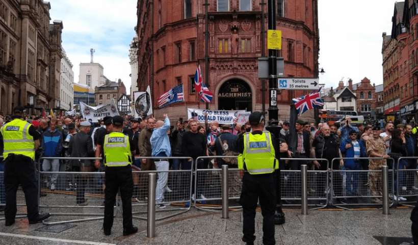 Nottingham protesters