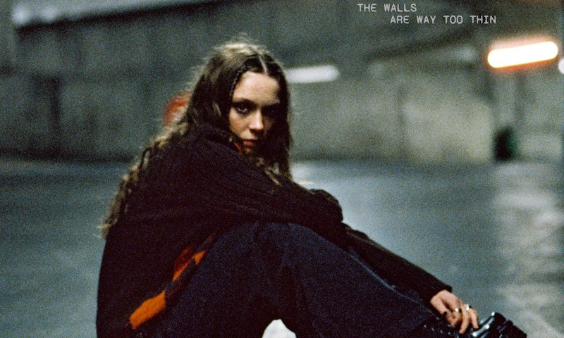 The cover image of Holly Humberstone's latest single 'The Walls Are Way Too Thin'