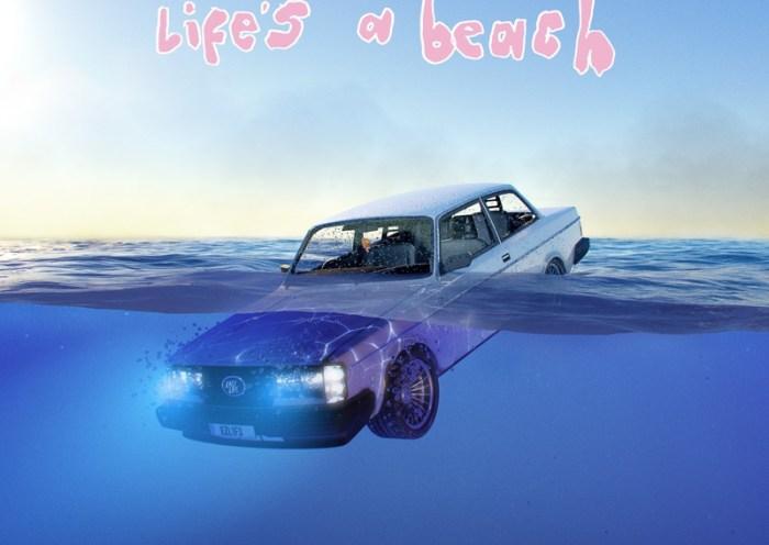 Easy Life's debut album 'Life's A Beach' - cover artwork