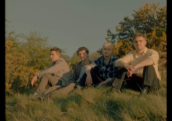 Nottingham indie band Cucamaras, who return with their latest single 'Safe Bet'