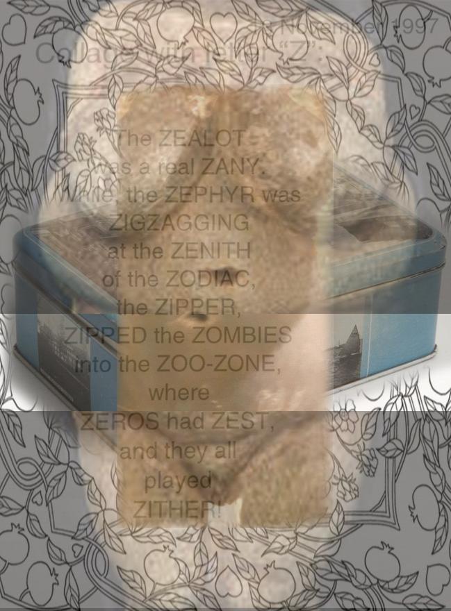 Letter-Z-Collage-Venus