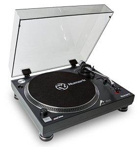 Numark TT250 USB Platine Vinyle Professionnelle à Entraînement Direct + sorties RCA et USB pour l'enregistrement de vos vinyles