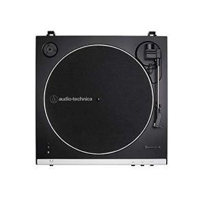 Audio-Technica LP60XBT Platine Vinyle sans Fil À ENTRAÎNEMENT par Courroie Automatique – Blanc