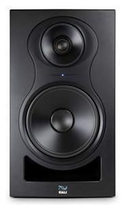 Kali Audio IN-8 Active 3-way Nearfield Monitor Enceintes de monitoring Moniteur de studio (médium/aigu coaxial, 140W – 60/40/40 Watt Tri-Amped), noir