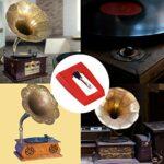 Aiguille pour phonographe, aiguille de tourne-disque stylet pour phonographe, bonne durabilité, haute qualité sonore pour le vintage