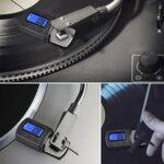 Liujaos Jauge d'échelle de Force de Stylet phonographe, manomètre, rétroéclairage LCD pour phonographe Tourne-Disque