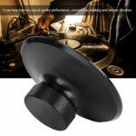 Stabilisateur de Disque, Pince de Disque Vinyle Élégante et Durable, Stabilisateur de Disque de Platine 5,6 Oz Audio Turntable Accessories(Le noire)