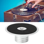Stabilisateur de platine-stabilisateur de platine accessoires de phonographe en alliage d'aluminium argenté de haute qualité