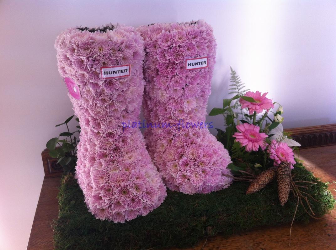 Bespoke Funeral Flowers Floral Designs Platinum Flowers