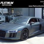 2017 Audi R8 5 2 Quattro V10 Plus Stock 6581 For Sale Near Redondo Beach Ca Ca Audi Dealer