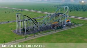 bigfoot rollercoaster