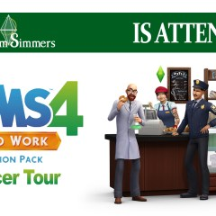 Platinum Simmers at The Sims 4 Get to Work event!