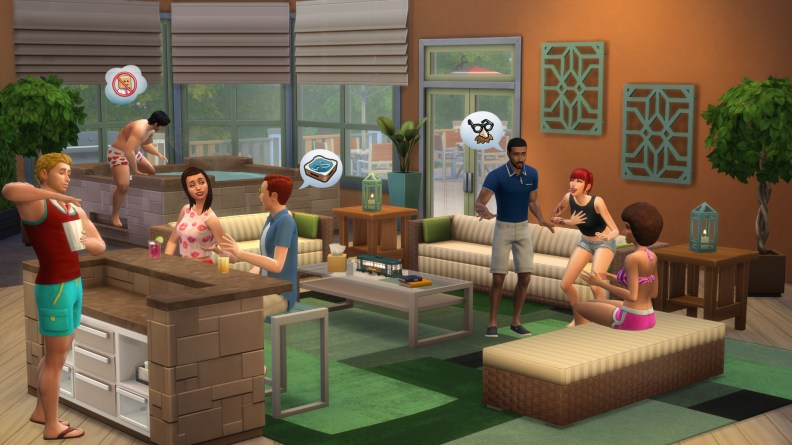The Sims 4 Perfect Patio Stuff Pack, released w/c 15/06