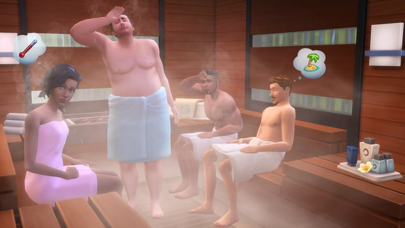 The Sims 4 Spa Day Game Pack