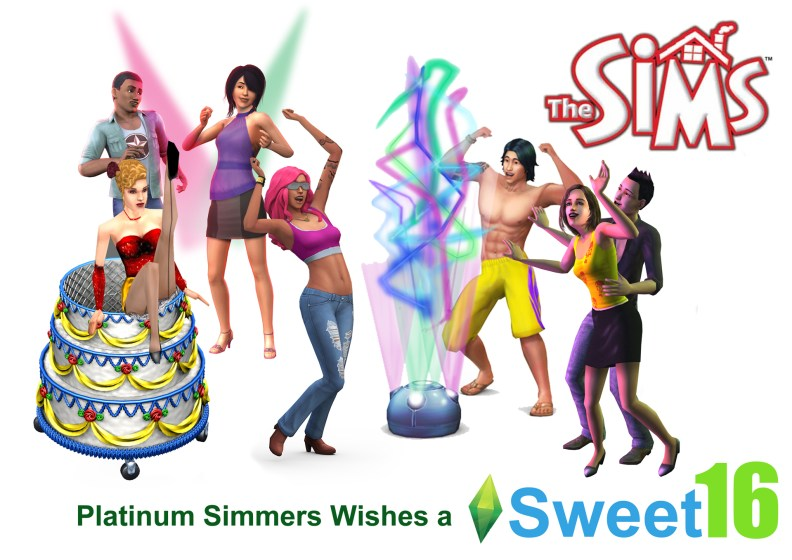 Sims sweet 16
