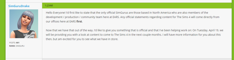 2016-04-13 08_41_25-No plans for toddlers or pets, says The Sims Latam. - Page 7 - The Sims Forums