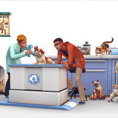 The Sims 4 Cats & Dogs – Vet Clinics!