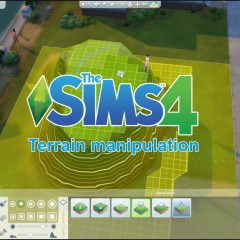 The Sims 4 Terrain Manipulation!