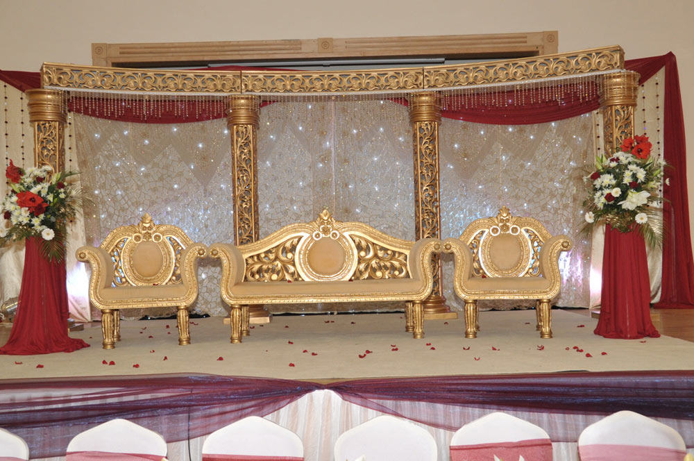 Wedding Stage Decor The Platinum Suite Leicester